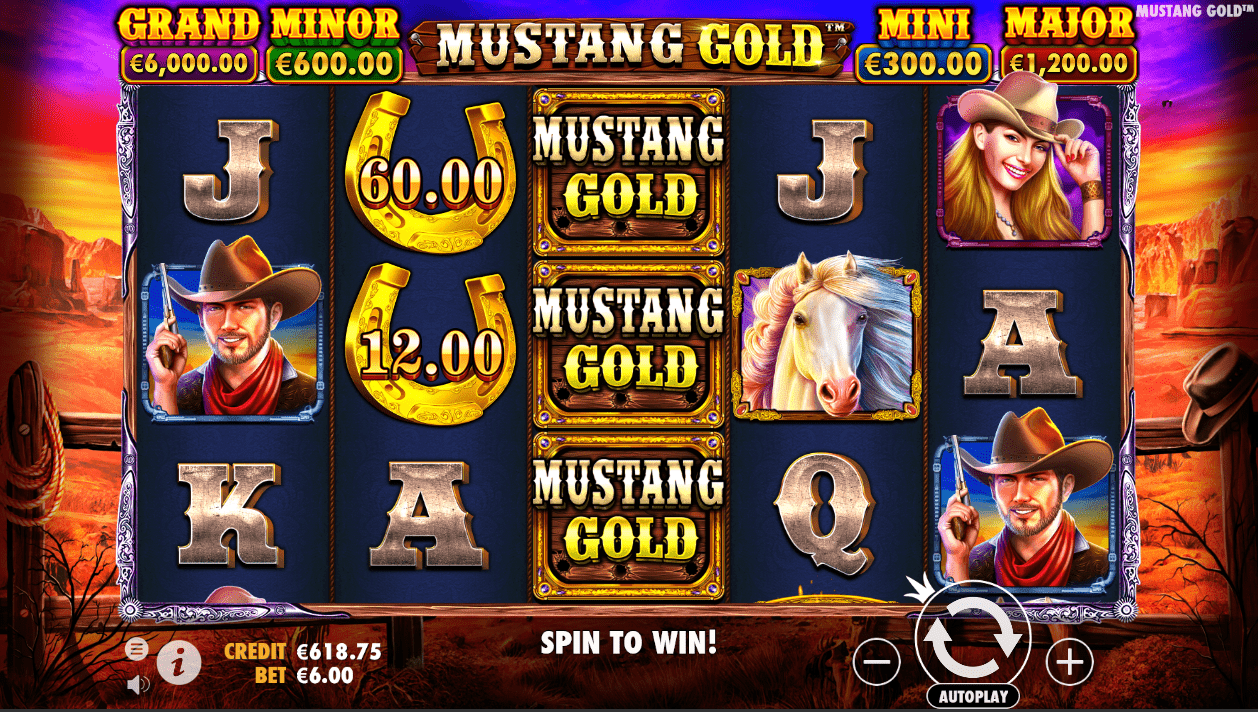 Mustang Gold online