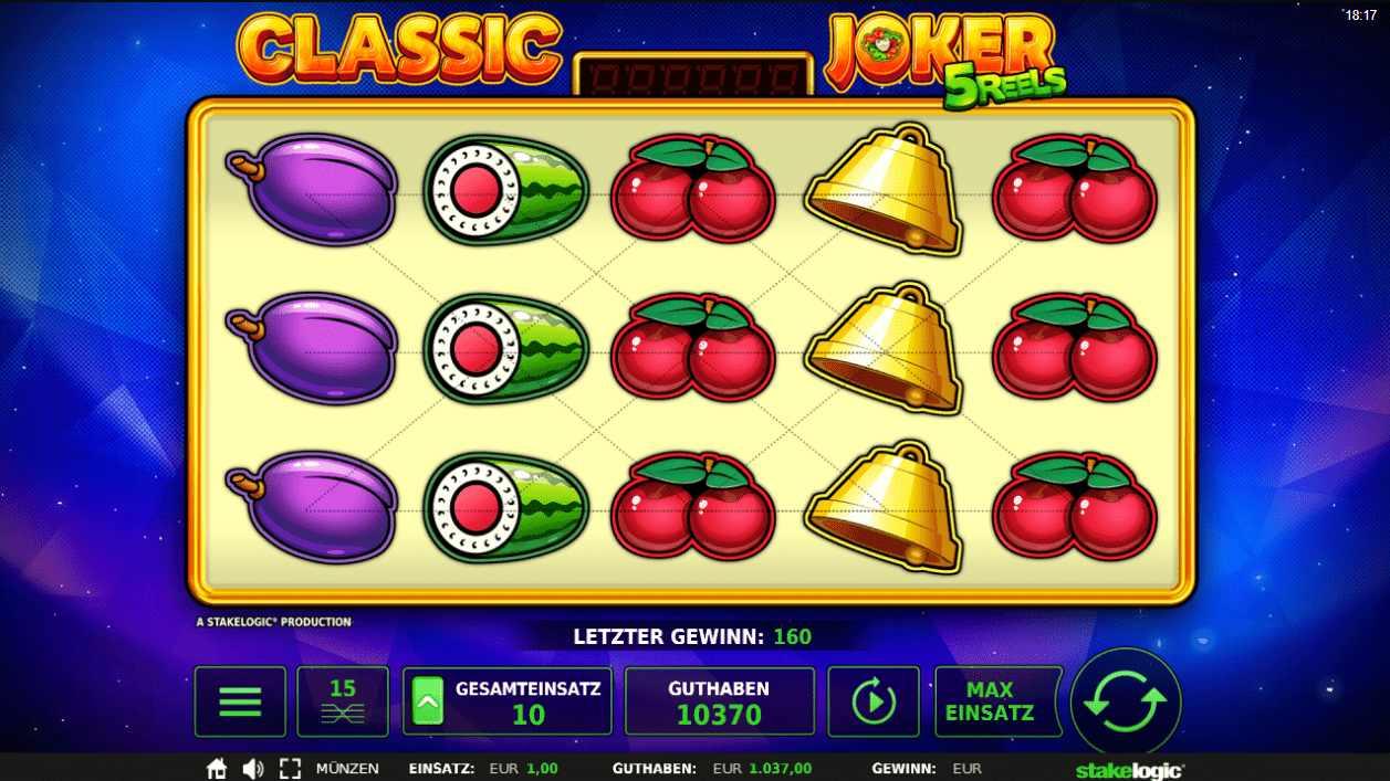 Classic Joker 5Reels online