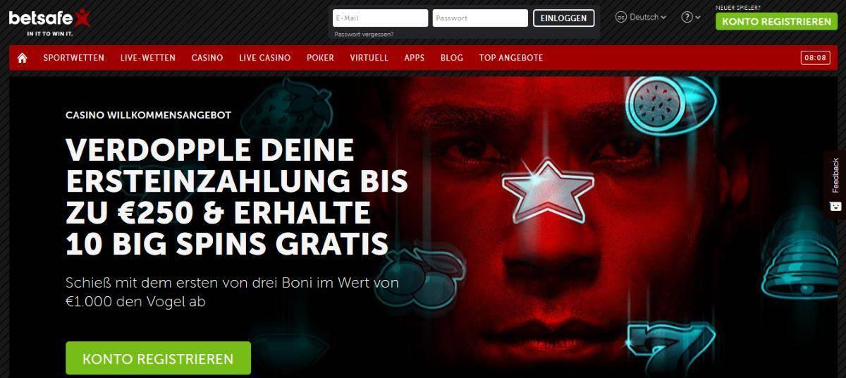 online casino anmeldung