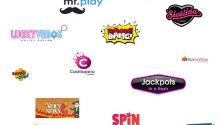 Nye online casinoer & ukendte online kasinoer i testen