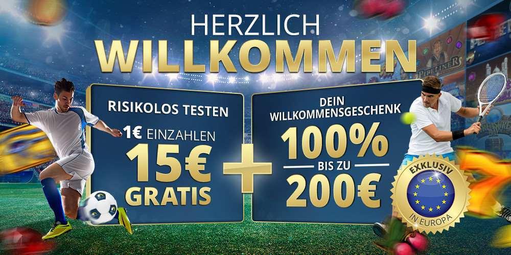 15€ ohne Einzahlung im Sunmaker Casino