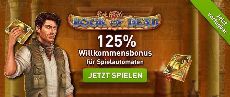 Book of Dead Bonus Test