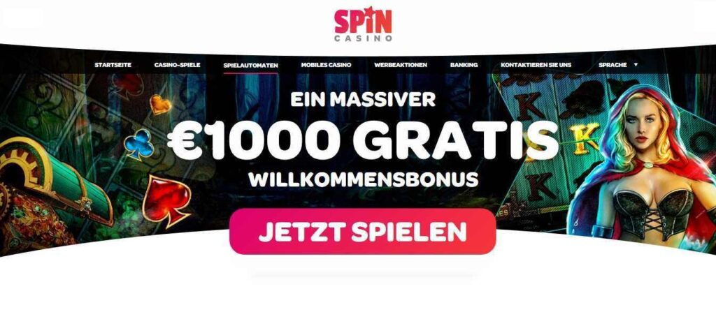 Spin Casino Bonusangebot