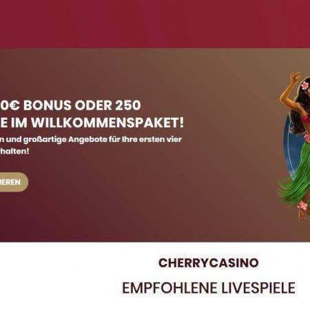 Cherry Casino Test