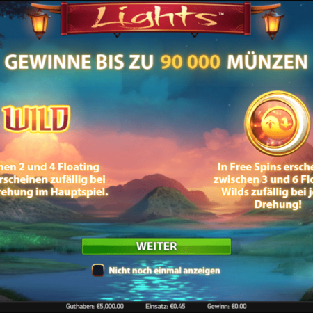 Lights – Freispiele mit tollem Feature