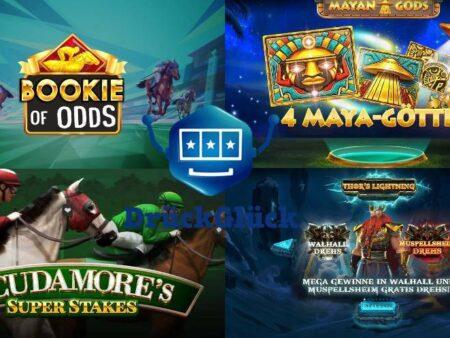 Großartige neue Slots im DrückGlück Casino