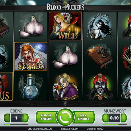 Blood Suckers – Spielautomat der Vampire