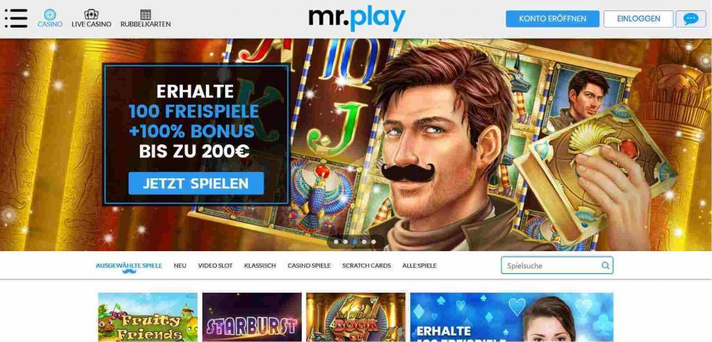 mr play online casino Test
