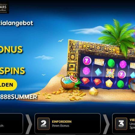 888 Casino Summer Special Bonus