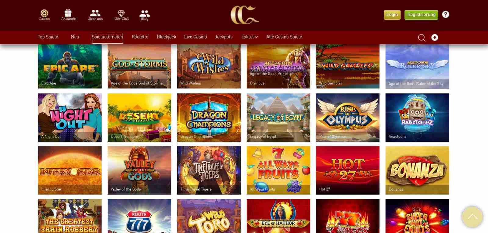 casinoclub spielautomaten