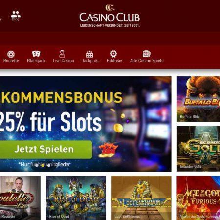 CasinoClub Test