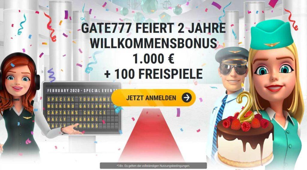 Gate777 Bonus