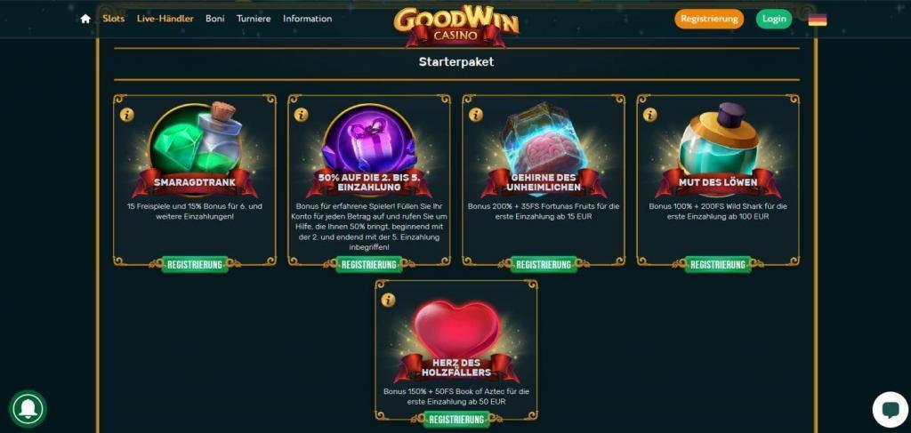 Goodwin Bonus
