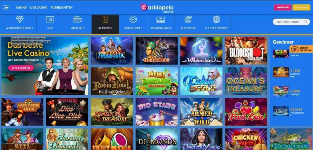 cashiopeia spiele - Cashiopeia Casino