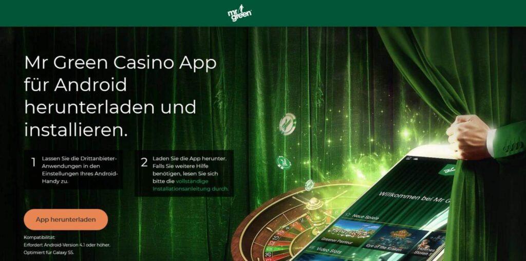 Mr Green Casino App 3 - Mr Green App