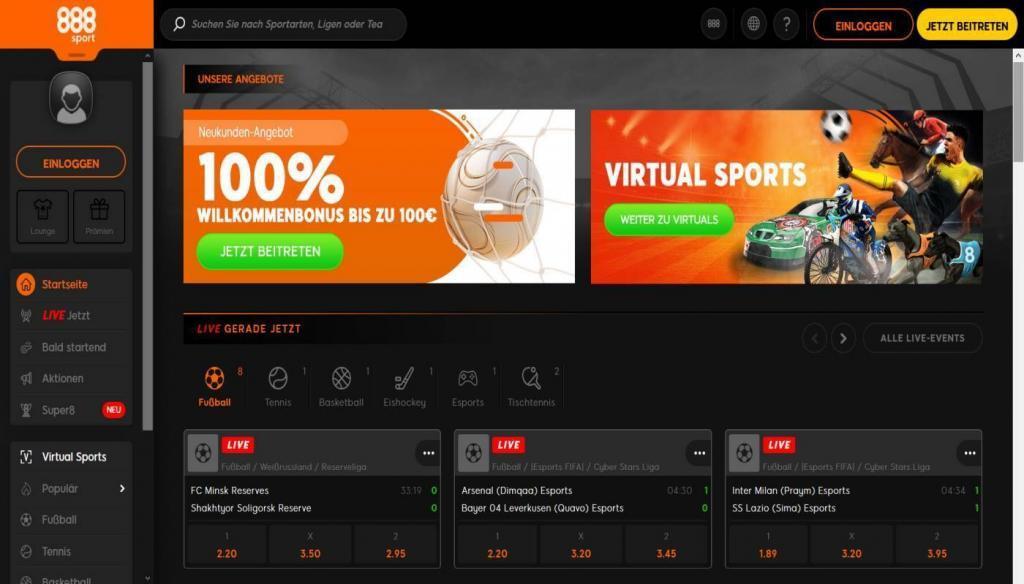 Sportwetten Test 888 - Sportwetten Test - Welcher ist der beste Anbieter?