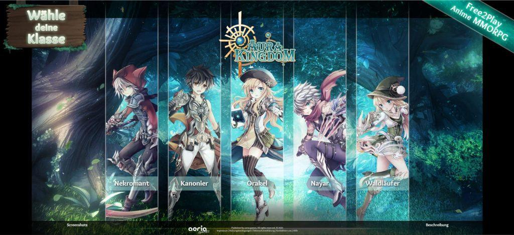 aura kingdom - Online Rollenspiele Test