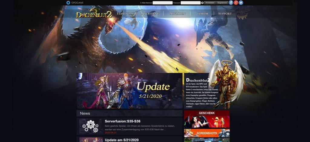 drachenblut - Online Rollenspiele Test