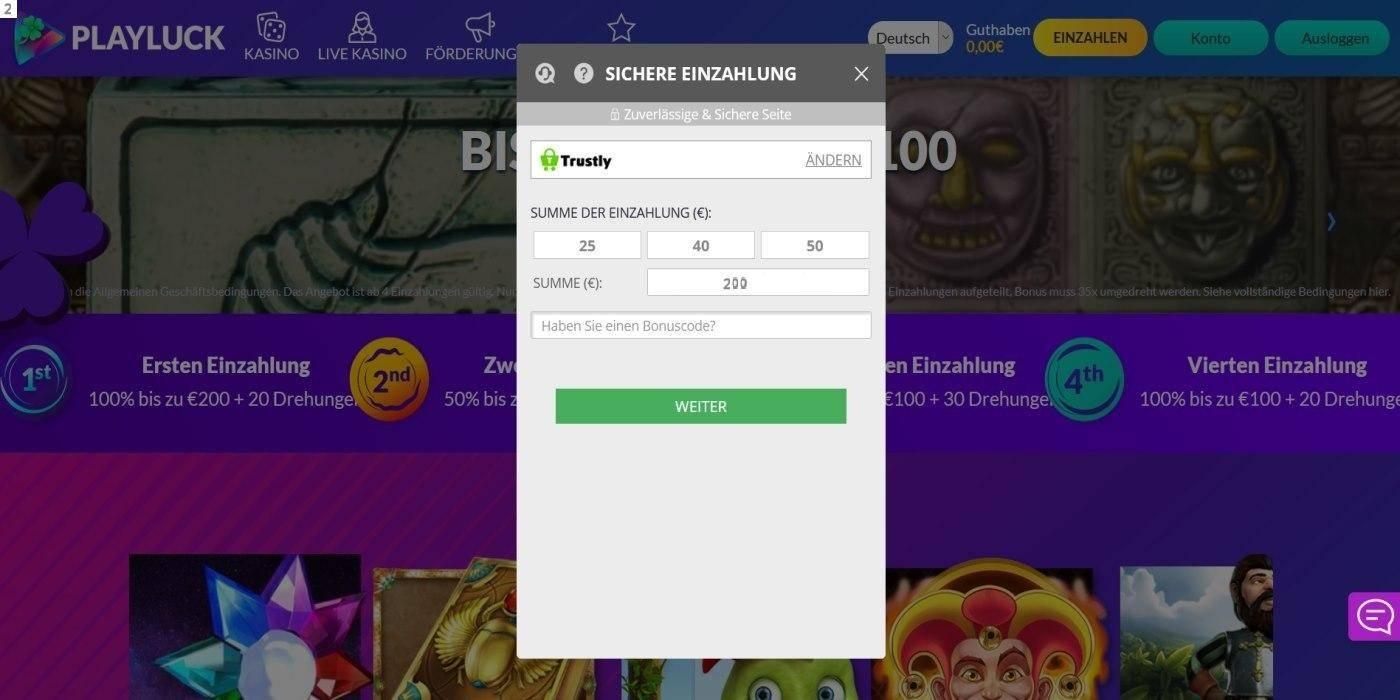Playluck Einzahlung 1 - Online casino test - which one is the best in 2021?