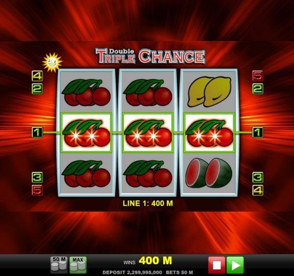 double triple chance 2 - Triple Chance