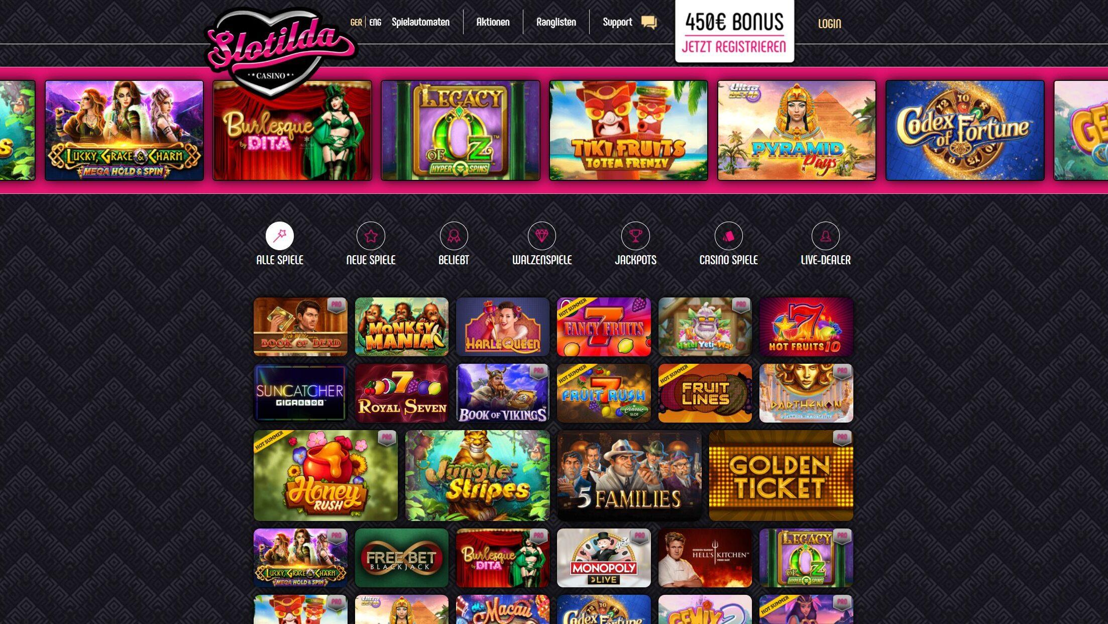 kasinové hry