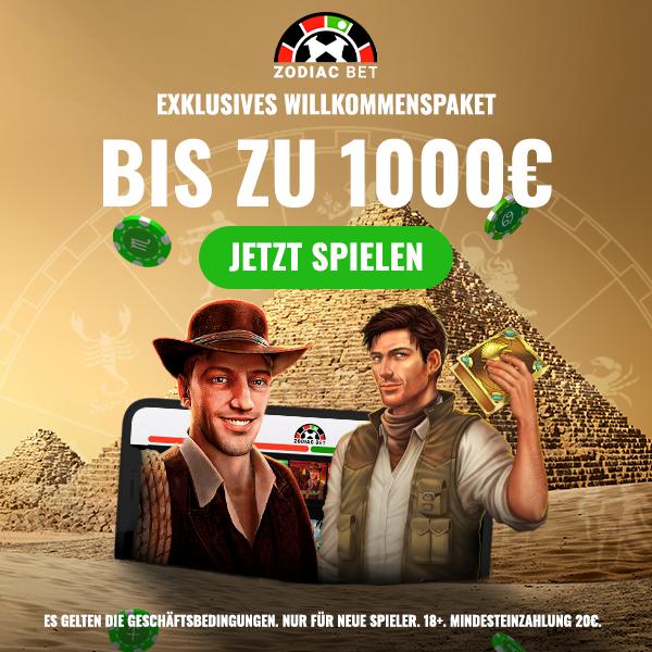 € 1000 Book of Ra Bonus