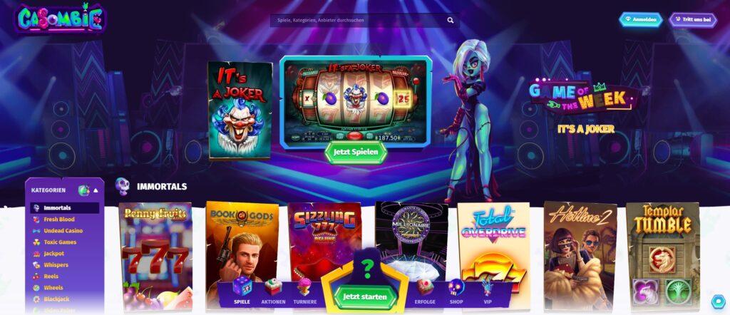 casombie казино игри