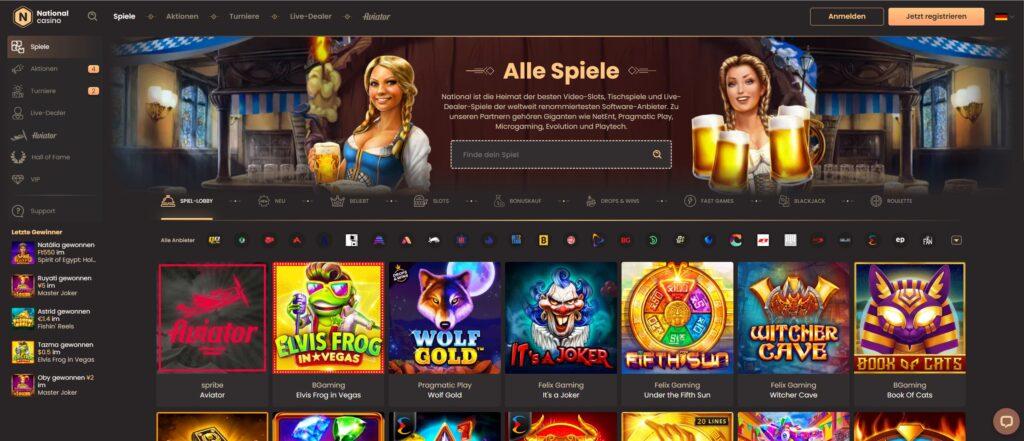 juegos de casino nacionales