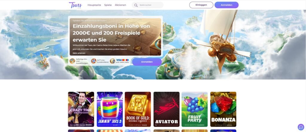 Tsars online casino