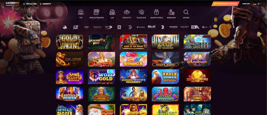 casinonic spiele 1 - CasinoNic